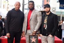 50 Cent Receives Star on Hollywood Walk of Fame.