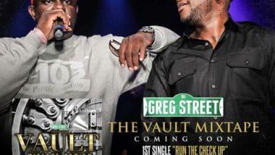 DJ Greg Street - Run The Check Up cover