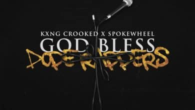 KXNG Crooked - God Bless Dope Rappers cover