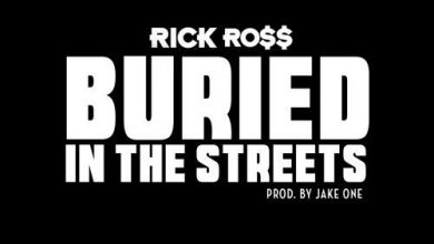 Rick Ross - Buried In The Streets cover